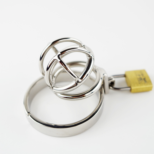 Small Male Chastity Device Stainless Steel Cock Ball Locks Male Cock Cages Super Small Size