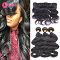 MSU Cambodian Hair Body Wave 3pc 8A Unprocessed Cambodian Virgin Hair with Closure Pre Plucked Lace Frontal Closure with Bundles