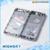 Peças de reposição cor original para iphone5s metal da porta da bateria para o iphone 5s habitação tampa traseira do caso 1 peça frete grátis