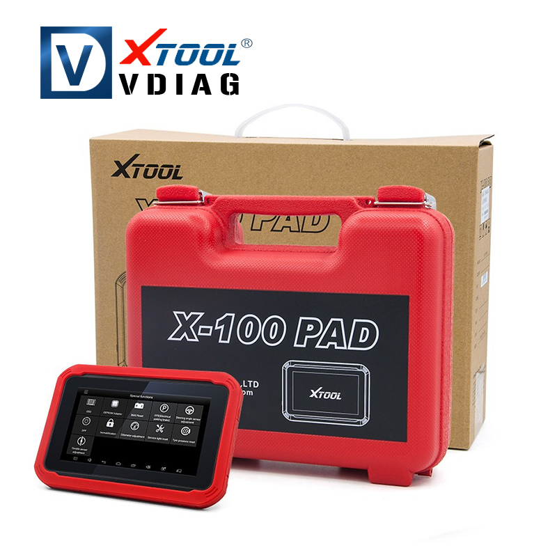 Prix pour 100% D'origine XTOOL X100 PAD Même Fonction comme X300 X100 Pad Auto Clé Programmeur avec Fonction Spéciale Mise À Jour En Ligne X300 pro
