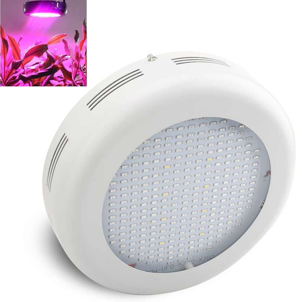 Full Spectrum 300W Led Grow Light UFO LED Plant Lamp UV IR Grow Tent Lighting For Garden Park Flowering Plants full spectrum 300w led grow light ufo led plant lamp uv ir grow tent lighting for garden park flowering plants