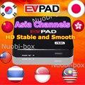 [Auténtica] EVPAD PRO HD IPTV Japonés Coreano Cuadro de TV Android 1000 + Gratis En Vivo Canales Malasia Singapur HK China VS TVPAD