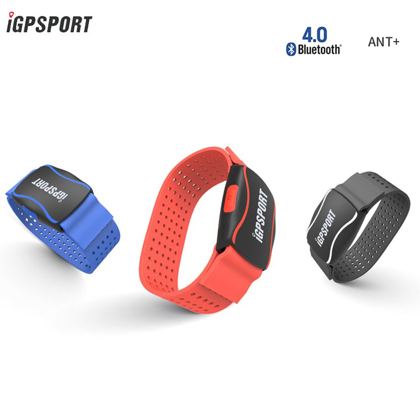 IGPSPORT HR 60 Cycling Bike Computer Heart Rate Monitor ANT BLE Connect Smart Phone IPX7 Rechargeable