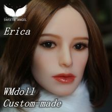 WMdoll -SWEETIE ANGEL Customer Made ORAL sex doll HEAD sex doll's head only Man Masturbation
