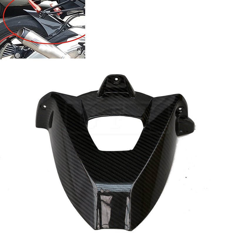 Motorcycle Carbon Fiber Rear Fender Cover For BMW S1000RR 2009 2010 - 2016 S1000 RR Moto Protector Mudguard Fairing Accessory