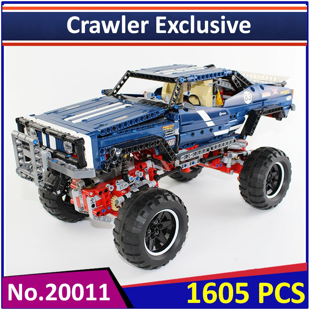 Lepin 20011 compatible legoes technical suv 4x4 off road crawler exclusive 41999 building blocks educational toys