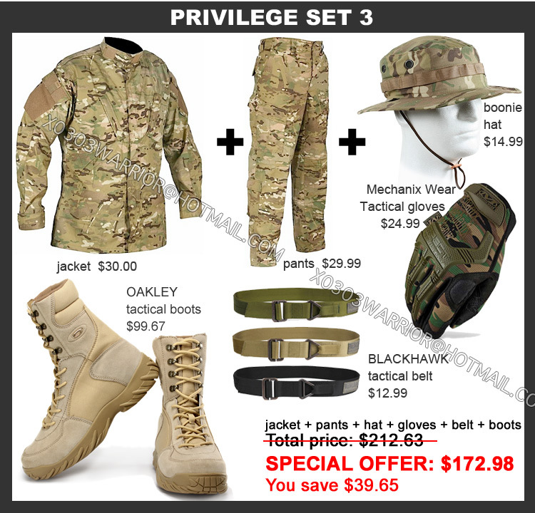 Cp Multicam Camouflage Suit Bdu Combat Paintball Suit