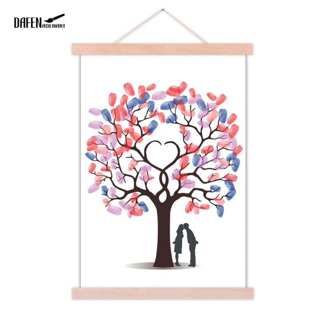 poster and prints wooden hanger photo frame diy magnet wood picture