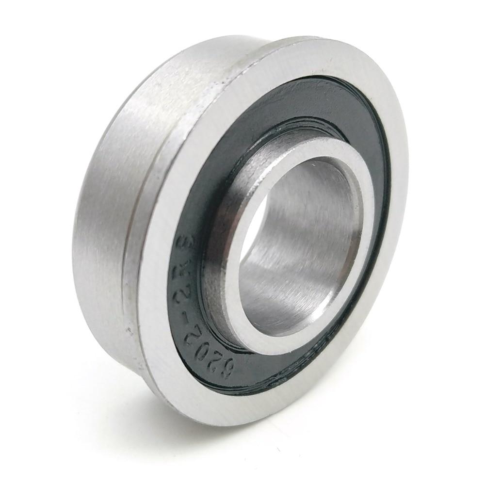 1 Stücke F6202 F6202rs F6202-16-2rs 16x35x11 Mochu Flansch Lager Miniatur-rillenkugellager Versiegelt Ball Lager