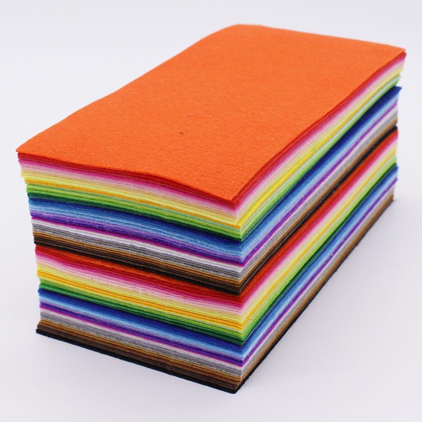 """3 Feuilles de polyester Feutre 9/"""" x 12/"""" en Orange"""