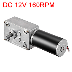Uxcell(R) 1Pcs DC 12V 160RPM Worm Gear Motor 3kg-cm Reversible High Torque Speed Reduce Turbine Electric gearbox motor 8mm ShaftUxcell(R) 1Pcs DC 12V 160RPM Worm Gear Motor 3kg-cm Reversible High Torque Speed Reduce Turbine Electric gearbox motor 8mm Shaft