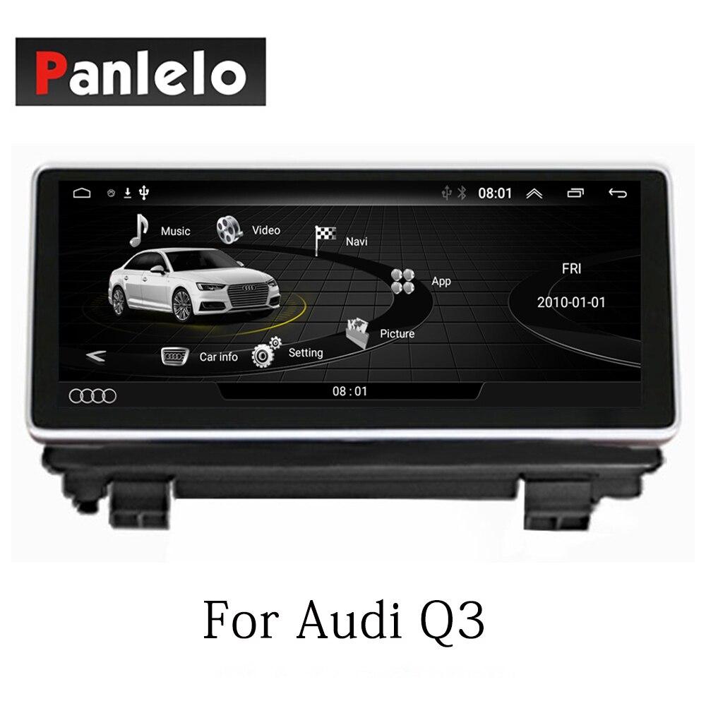 Panlelo стерео Android 7,1 для Audi Q3 авто радио AM/FM gps навигации BT Рулевое колесо Управление Wifi 2 Din HD 1024*600