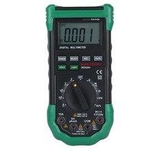 MASTECH MS8268 Авто Диапазон Цифровой Мультиметр AC/DC Тестер Напряжения ом Емкость Частота Метр проверка диодов