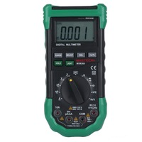 MASTECH MS8268 Auto Range Digital Multimeter AC/DC Voltage Tester ohm Frequency Capacitance Meter diode test