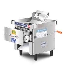 850 Вт многофункциональная 304 машина для резки мяса из нержавеющей стали ломтерезка профессиональная настольная автоматическая электрическая машина для кубиков
