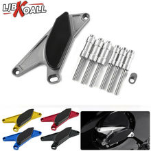 For 1999-2015 SUZUKI Hayabusa GSXR1300 Engine Frame Guards Cover CNC Aluminum Motor Accessories Crash Pads Slider Protector Set chrome motorcycle tank pads center cover for suzuki hayabusa gsxr1300 1999 2012