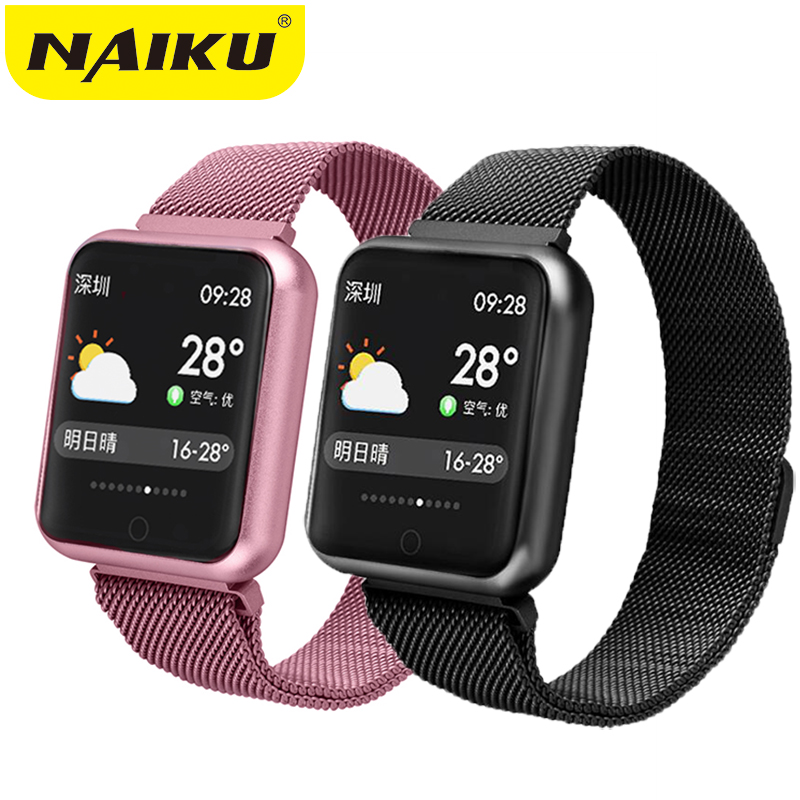 $30.00 Sports IP68 Smart Watch P68 fitness bracelet activity tracker heart rate monitor blood pressure for ios Android apple iPhone x 7