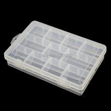free shipping 11grid Thickened PP storage box IC Category Box Sealed bin Home case office DIY