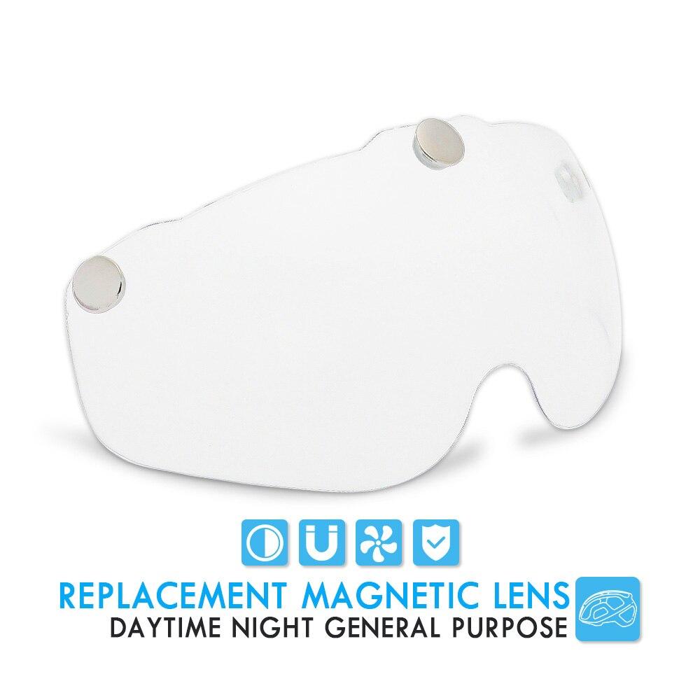 Bicycle Helmet, For Night Cycling, Lens Magnetic, Helmets Shield  MTB 3