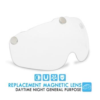 Bicycle Helmet, For Night Cycling, Lens Magnetic, Helmets Shield  MTB 8