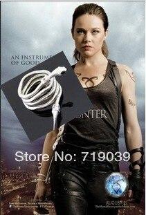 Hot Wholesale 20pcs lot The Mortal Instruments City of Bones Isabelle Lightwood s Electrum WhipSerpent Bracelet
