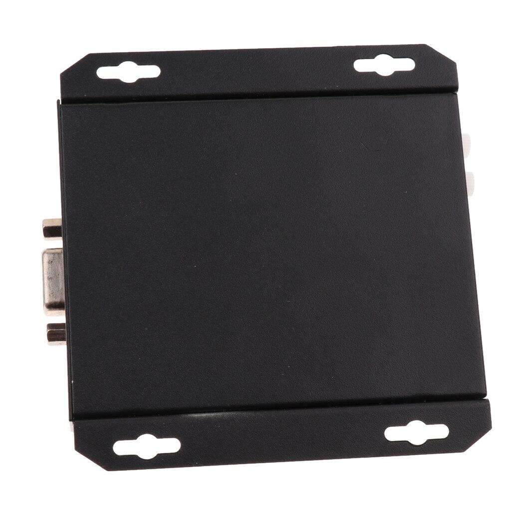 MagiDeal VGA Video Extender 200m/656ft Transmitter Receiver RJ45 Cat5e Cable 1080P