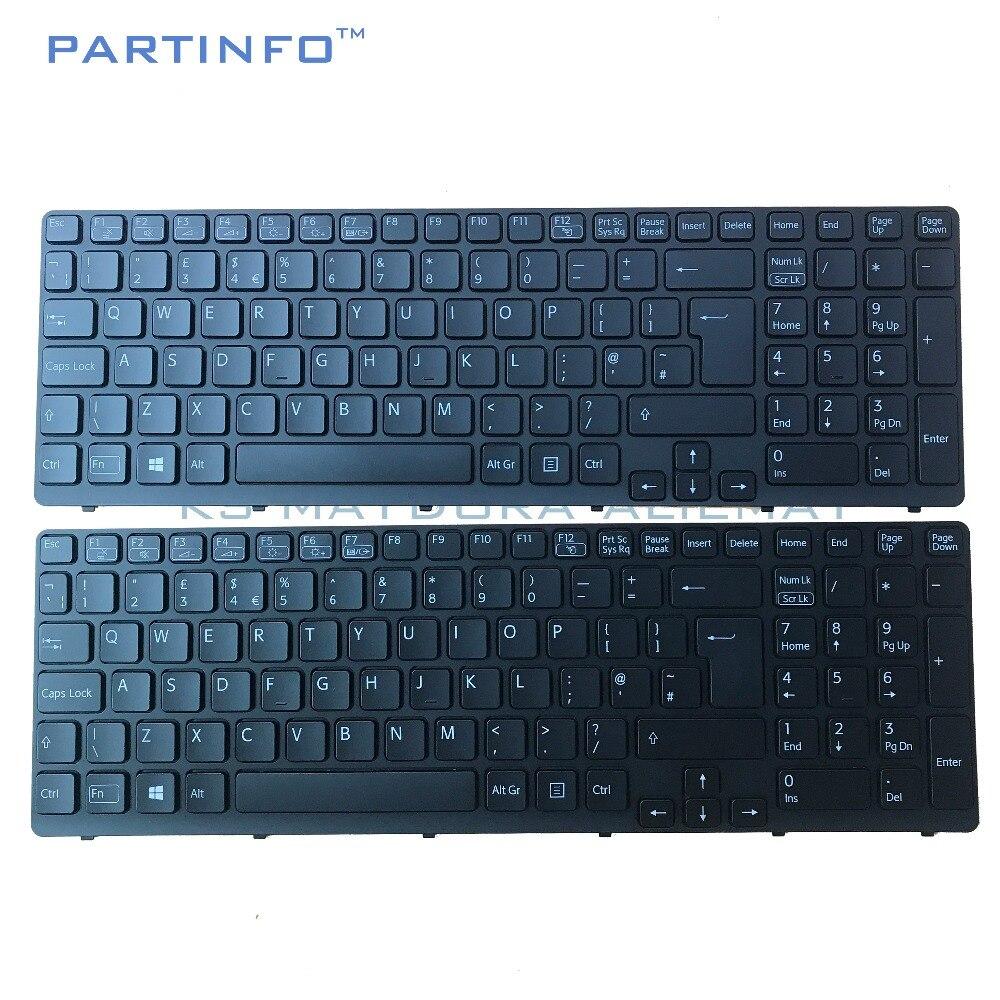 Laptop UK keyboard for SONY VAIO SVE15 SVE-15 SVE151 SVE1511 SVE171 SVE1712  SVE1713 black e3b4413519