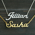 Collar personalizado de cualquier nombre, collar de aleación, Collar personalizado, Collar personalizado