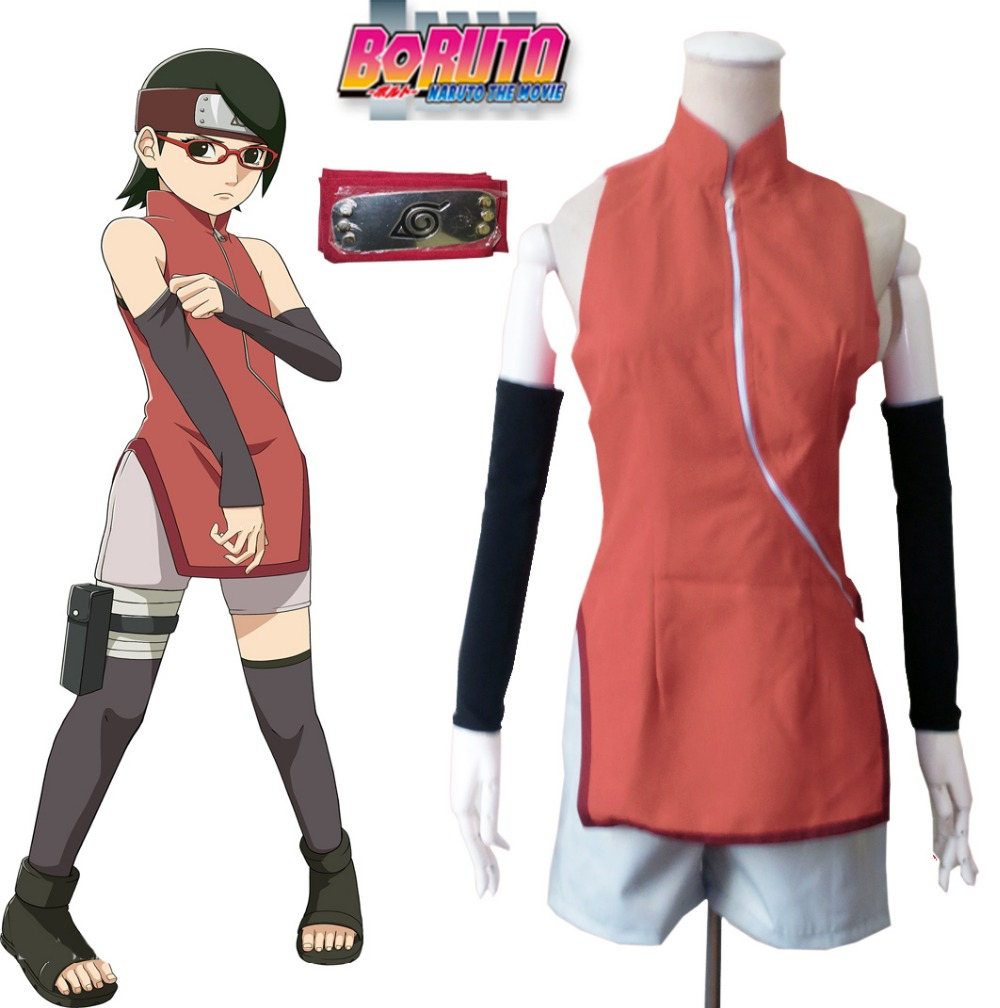 Free Shipping Boruto: Naruto the Movie Uchiha Sarada ...