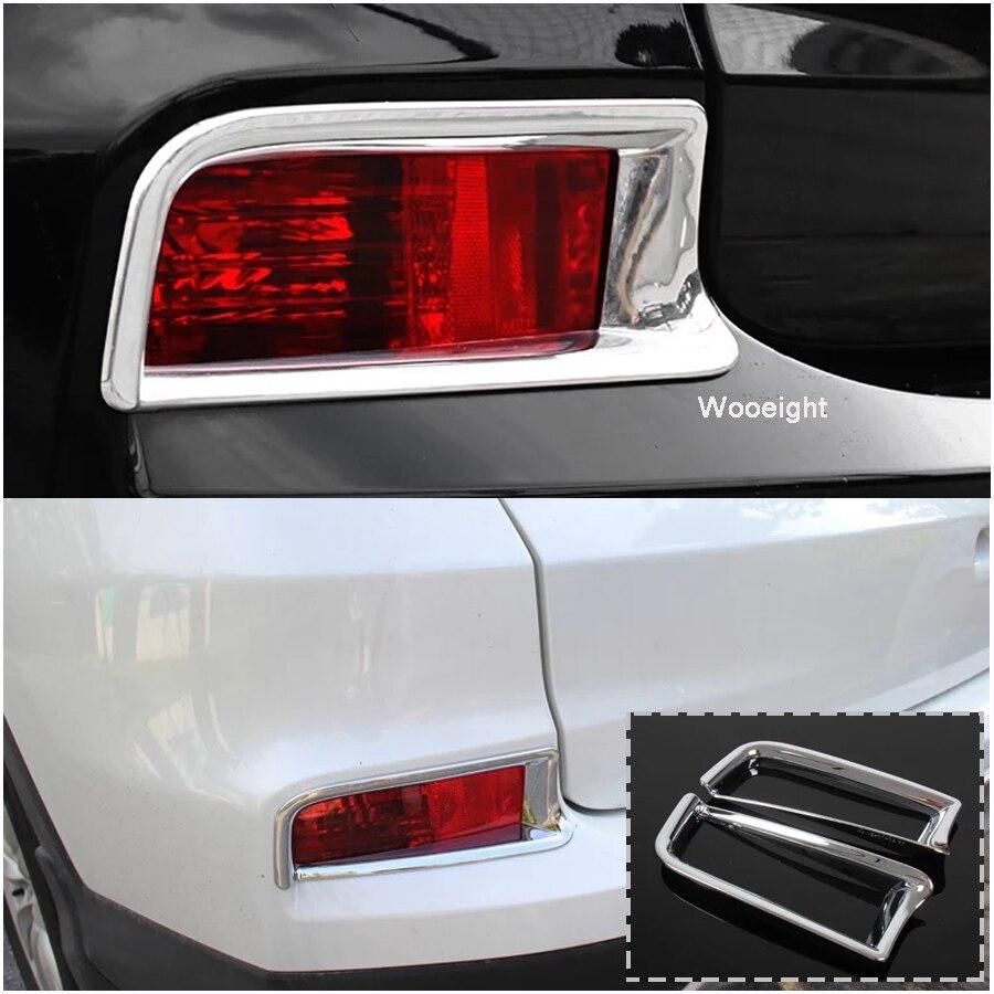 Fit For Honda CR-V CRV 2015 2016 Chrome Rear Tail Light Lamp Cover Trim Moulding