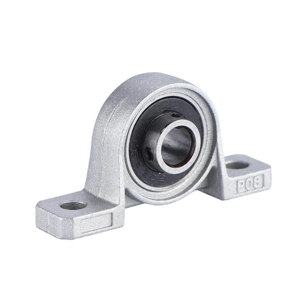 Bearing Machine Us 2 57 13 Off Zinc Alloy Diameter 8mm Bore Ball Bearing Block Mounted Bearing Support Kp08 55x13x28mm Machine Accessories For 3d Printer In 3d