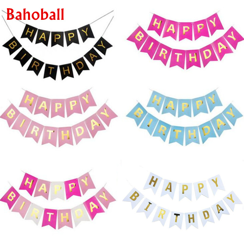 Baby Shower Party Flag Bunting Decoration Boy Girl Felt Banner Favor Supplies 3D