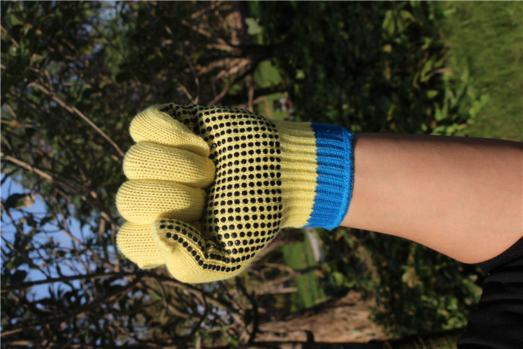 Pruning Tools Urijk Cut Resistant Short-Sleeve Antiskid Gloves Kevlar Strengthens High Temperature Gloves Protective Safety