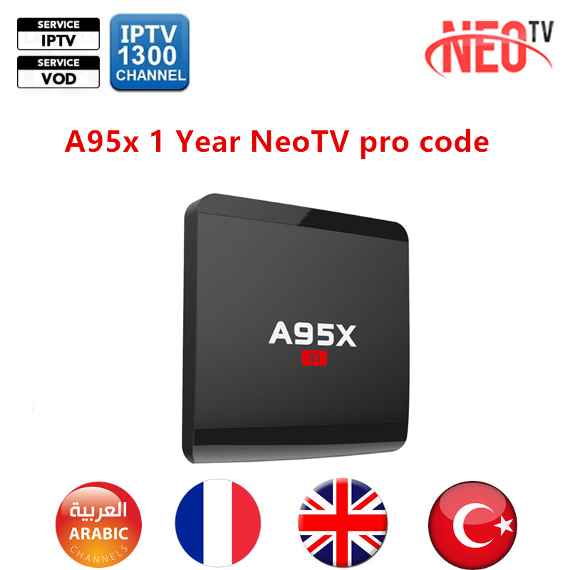 US $31 54 17% OFF 1 Year NEO TV pro NeoTV IPTV for Android TV Box Arabic  French Germany IPTV Subscription Volka TV pro Live TV code-in Set-top Boxes