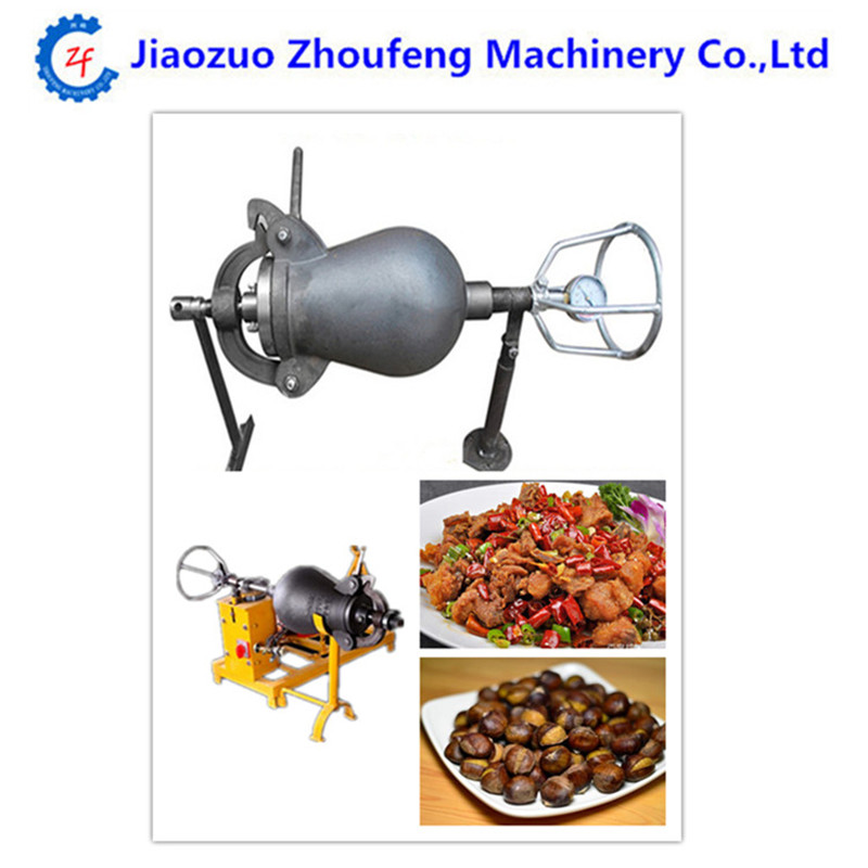 Hand driven electric popcorn chicken popper puffing machine driven to distraction