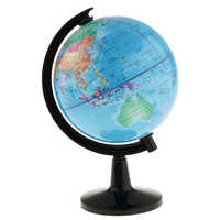 Rotante World Globe Modello di Mappa Del Mondo Globe per la Scuola Aula Sussidi Didattici Scrivania A Casa Decorazione