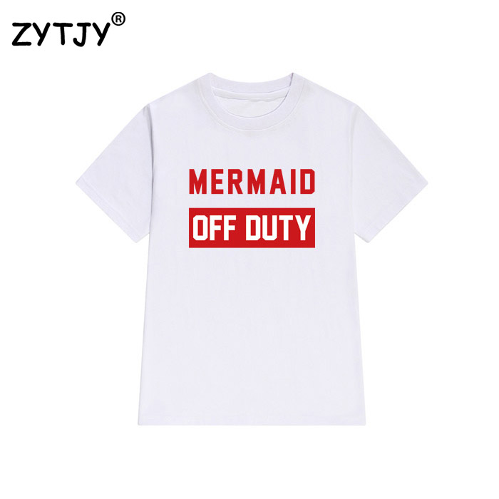 HTB1iDYHQFXXXXcTXFXXq6xXFXXXA - Mermaid Off Duty Women T Shirt