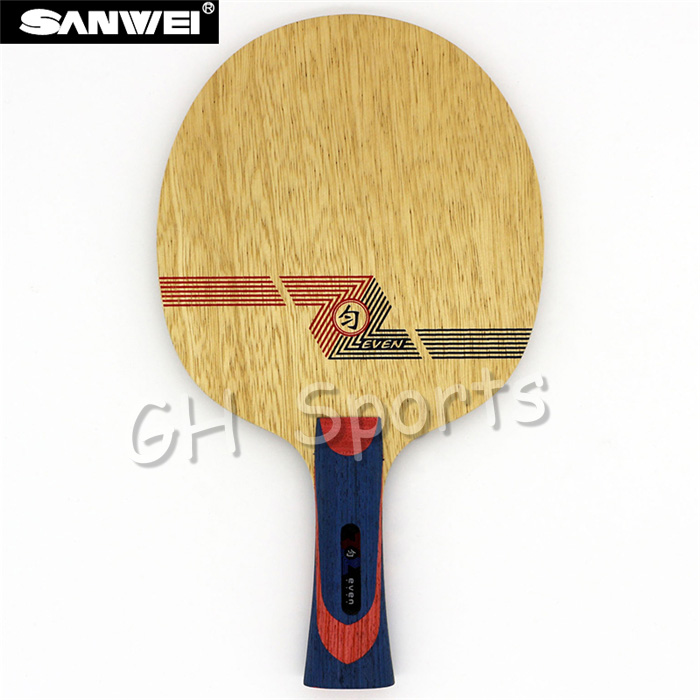 Sanwei WHITE EVEN (BY-1091) Table Tennis Blade  Racket Ping Pong Bat Paddle