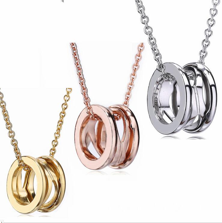 New 925 Sterling Silver necklace With Openwork Pendant Fits European male Female style DIY Jewelry Wear