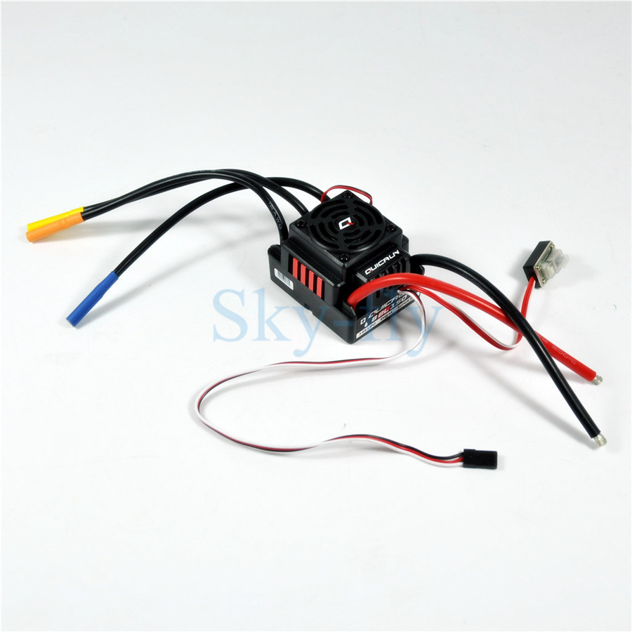 Original Hobbywing QuicRun WP 8BL150 150A Waterproof Brushless ESC Speed Controller For 1/8 RC Buggy Monster Sport Car hobbywing quicrun wp 16bl30 hobbywing quicrun 30110000 brushless waterproof 30a sensorless esc wp 16bl30 for 1 16