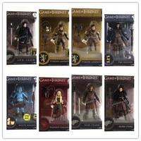 Game of Thrones Dragon Mother Daenerys Hound Ned Stark Devil Action Figure Doll Model W122