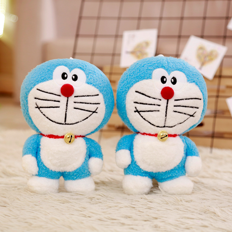 24cm Kawaii Stand By Me Doraemon Plush Toy Doll Cat Kids Gift Baby Toy Cute Plush Animal Plush Best Gifts For Babys And Girls