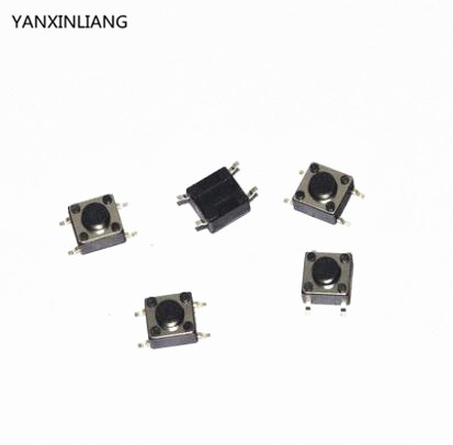 Electronic Components & Supplies Active Components 100pcs Touching Switch Button Microswitch 4pin Smd 6mm X 6mm X 8mm 6*6*8mm 6x6x8mm