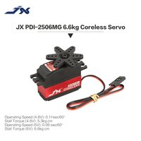 Hot! JX PDI 2506MG 25g 4.8~6.0V Metal Gear Digital Servo Coreless Motor for RC 450 500 Helicopter Fixed wing Airplane RC Parts