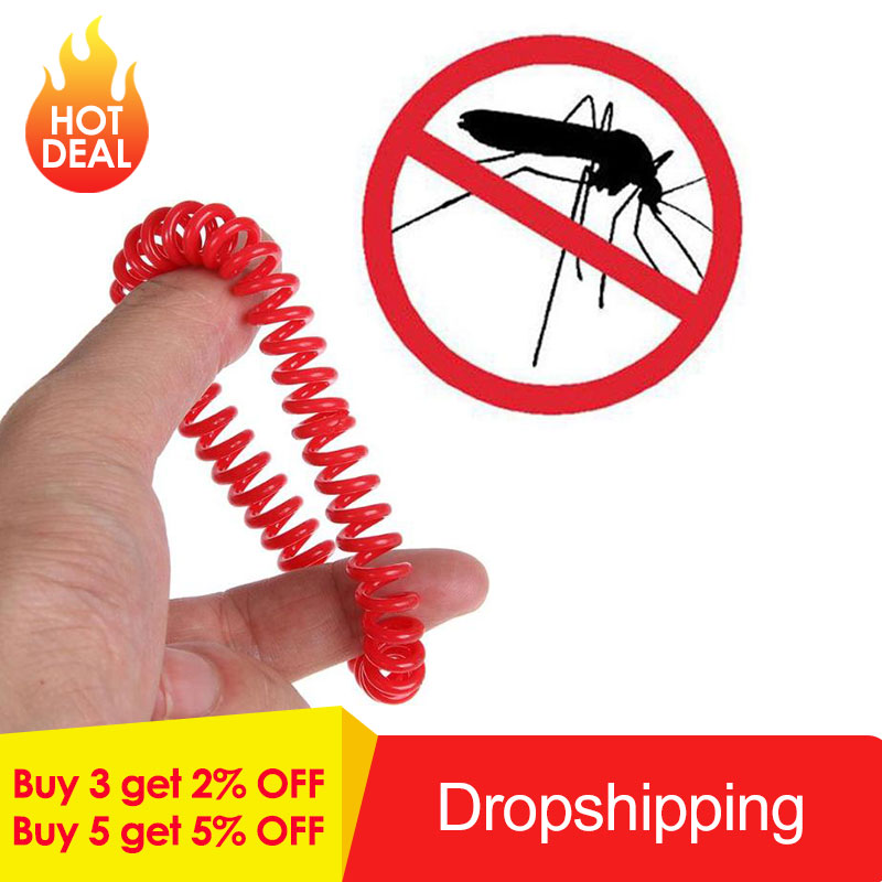 10pcs Mosquito Repellent Bracelets Pest Control Anti-Mosquito Insect Protection Outdoor Indoor For Adults Kids Mosquito Killer