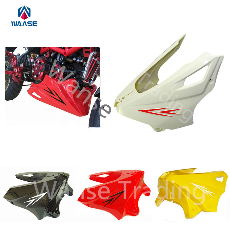 Motorcycle Engine Under Cowl Lowered Lower Shrouds Fairing Belly Pan Guard Cover For HONDA Grom MSX 125 MSX125 2013 2014 2015