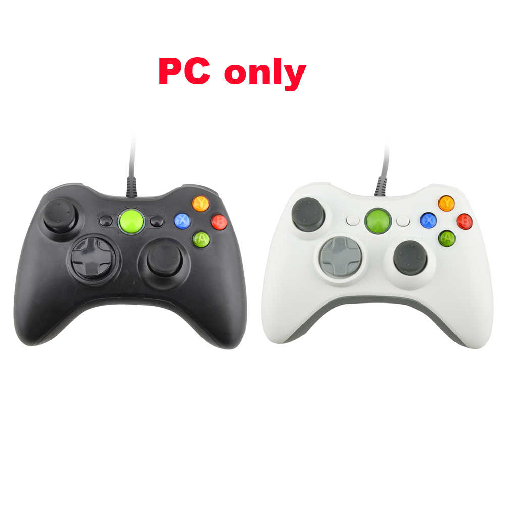 2pcs PC USB Wired Controller di Gioco Joystick Vibrazione per il PC Gamepad NON È compatibile per xbox 360 PC SOLO