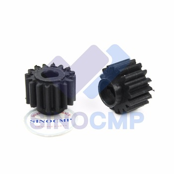 10PCS Rubber Gear Fits Hitachi Excavator EX120-5 EX200-5 EX220-5