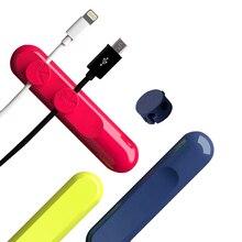 Станций крошечные рабочих кабельный winder магнитные кабельные передачи настольных шнура зарядки