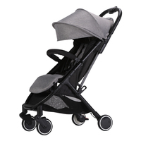 CH baby lightweight 6.9KG baby stroller with portable bag, fold baby carriage can take on the plan, baby pram with rain cover
